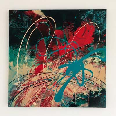 Favoriete Abstract kunst van Ilse Laurijssen | Maak kennis met mijn schilderijen &NY05