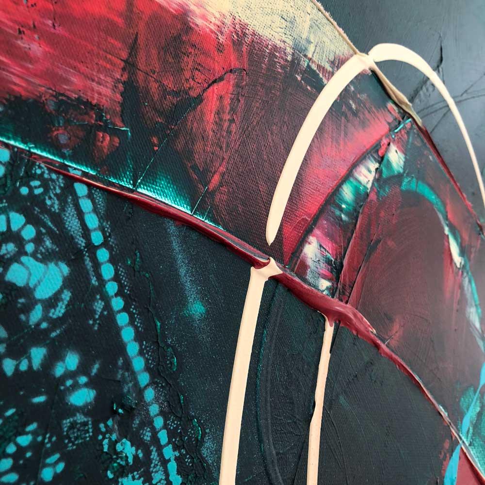Verrassend Abstract kunst van Ilse Laurijssen | Maak kennis met mijn schilderijen EI-13